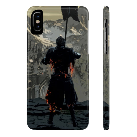 Dark Souls Retro Art Design Phone Case - Game Geek Shop