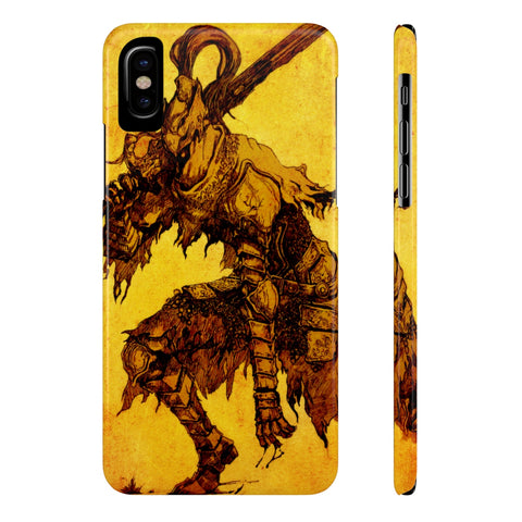 Dark Souls Knight Artorias Art Style Phone Case - Game Geek Shop