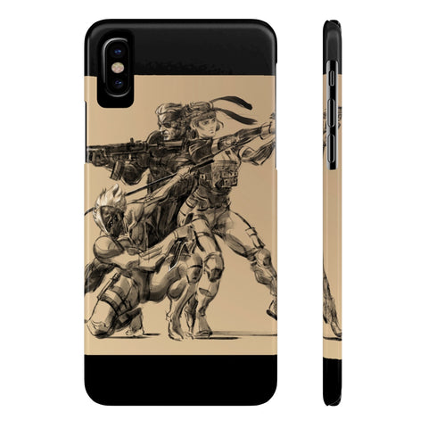 Metal Gear Solid Gaming Sketch Phone Case - Game Geek Shop