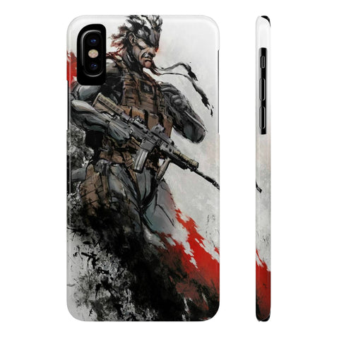 Metal Gear Solid Solid Snake Phone Case - Game Geek Shop
