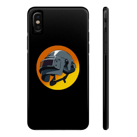 PUBG Juggernaut Helmet Gaming Theme Phone Case - Game Geek Shop