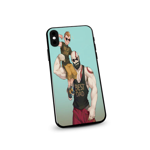 God of War 4 Dad Boy Cool Art Phone Case - Game Geek Shop