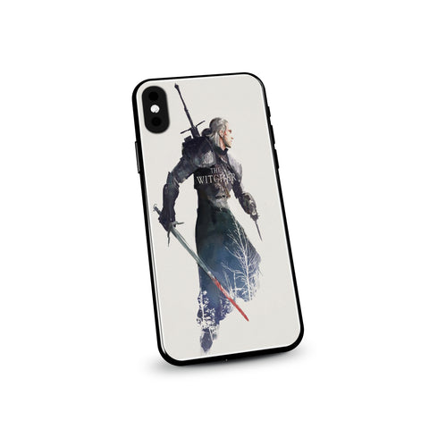 The Witcher Geralt Portrait Design Phone Case - Game Geek Shop