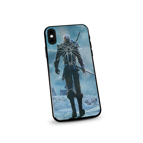 The Witcher Geralt Wild Hunt Symbol Phone Case - Game Geek Shop