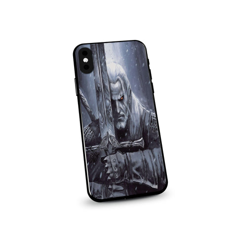 The Witcher Geralt Evil Sword Art Phone Case - Game Geek Shop