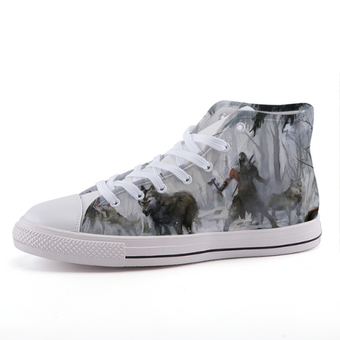 Assassin's Creed Wolves Pack Connor Game Sneaker Shoes - Game Geek Shop