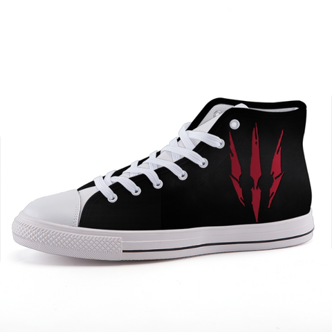 The Witcher 3 Wild Hunt Symbol Game Simple Sneaker Shoes - Game Geek Shop