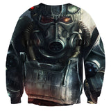 Fallout Power Armor Fan Art Gaming Sweater - Game Geek Shop