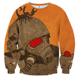 Fallout New Vegas Retro Artwork Game Sweater - Game Geek Shop