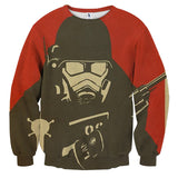 Fallout New Vegas Artwork Gaming Theme Sweater - Game Geek Shop