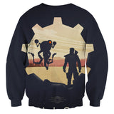 Fallout 4 Sole Survivor Codsworth Vault 111 Sweater - Game Geek Shop