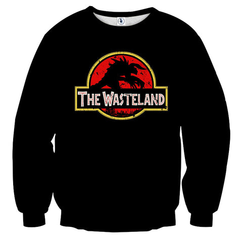 Fallout Deathclaw Jurassic Park Theme Sweater - Game Geek Shop