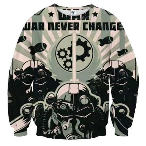 Fallout War Never Changes Power Armor Sweater - Game Geek Shop
