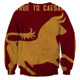 Fallout Caesar's Legion Poster Game Sweater - Game Geek Shop