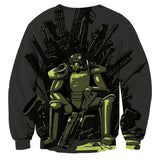 Fallout Game of Throne Theme Cool Design Sweater - Game Geek Shop