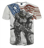Fallout 4 T-60 Power Armor Dope Design T-Shirt - Game Geek Shop
