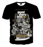Grand Theft Auto Anniversary Edition Design Game T-Shirt - Game Geek Shop