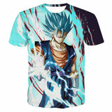 Dragon Ball Vegito SSGSS Vibrant Design Anime T-Shirt - Game Geek Shop