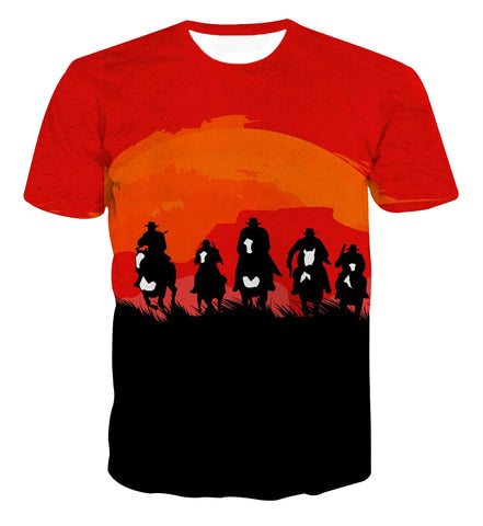 Red Dead Redemption Gangster T-shirt - Game Geek Shop