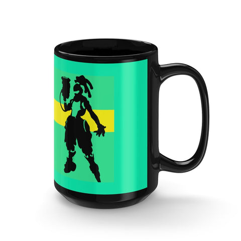 Overwatch Lucio Minimalist Design Ceramic Game Mug - Game Geek Shop