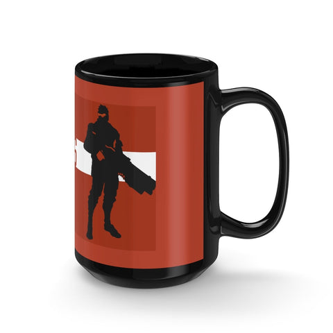 Overwatch Soldier 76 Minimalist Design Ceramic Mug - Game Geek Shop