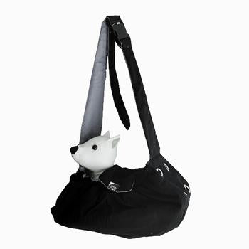 Messenger Bag Carrier by Dogo - Black - Treat Your Dog Good
