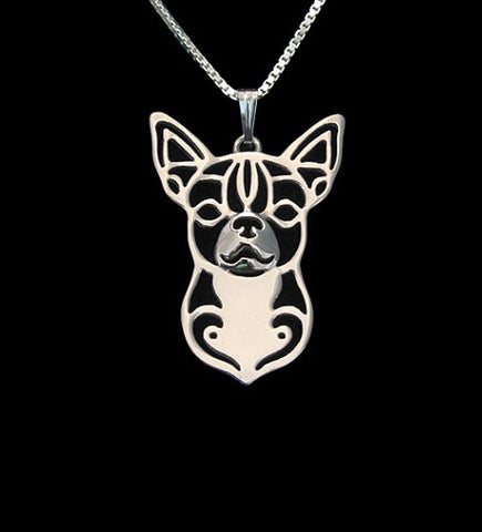 Regal Chihuahua Necklace (keep your chihuahua close to your heart) - Treat Your Dog Good