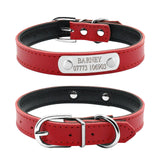 Leather Personalized Dog Collars - Treat Your Dog Good