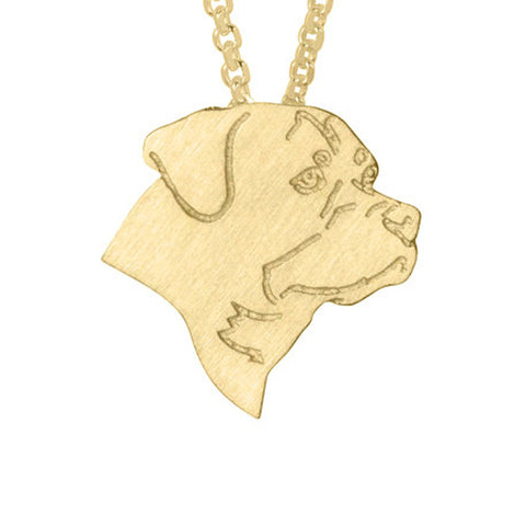 Women Pendants Necklace Memorial Gift - Treat Your Dog Good