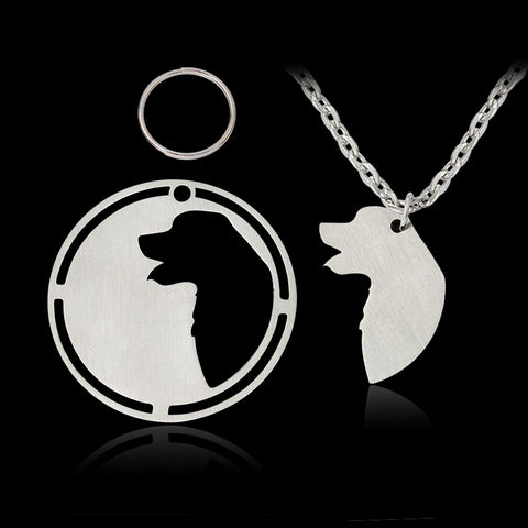 Great Pyrenees Pendant Necklace For Women - Treat Your Dog Good
