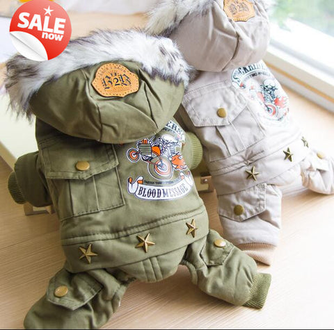 Military Dog Jacket - Treat Your Dog Good