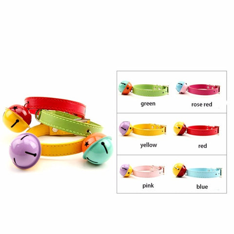 Soft Safety Elastic 6 color Bowtie with Bell - Treat Your Dog Good