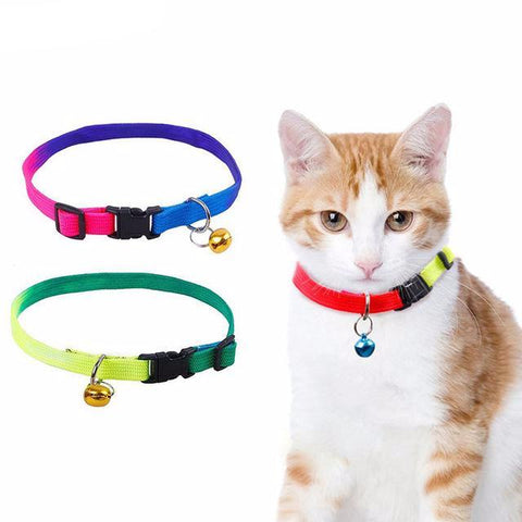 Cat collar leash breast-band With Bell - Treat Your Dog Good