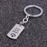 Keychains Key Ring Jewelry Gift - Treat Your Dog Good