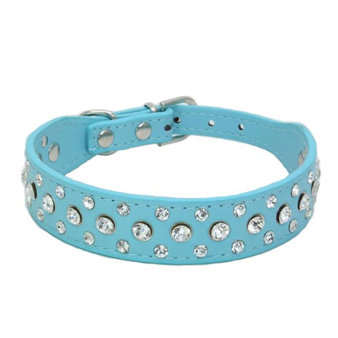 Cats Collars Rhinestone For Pet Accessories - Treat Your Dog Good