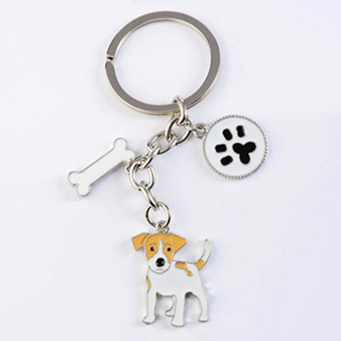 Russell Terrier key chains for women - Treat Your Dog Good
