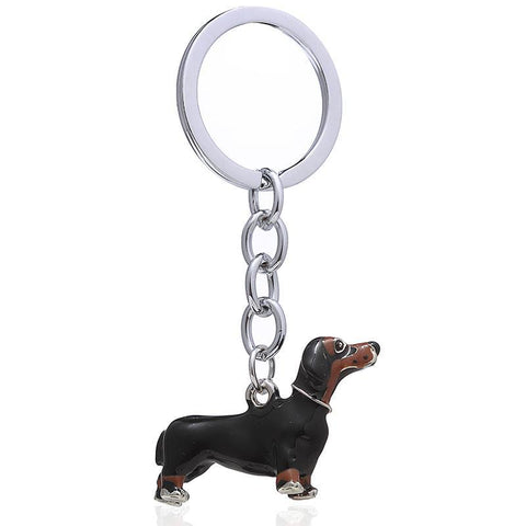 High Quality 3D Dog Keychain - Treat Your Dog Good