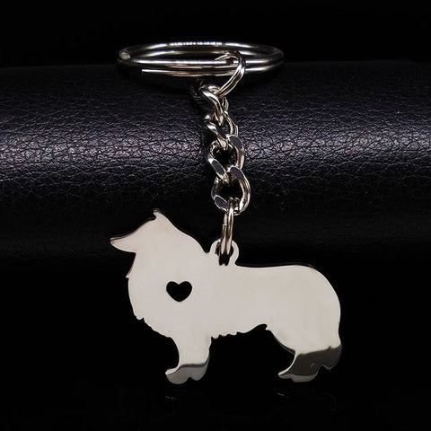 Stainless Steel Keychain - Treat Your Dog Good