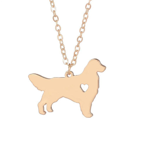 Gorgeous Golden Retriever Necklace Choker Pendant - Treat Your Dog Good