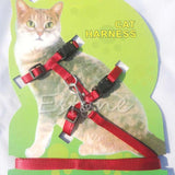 Adjustable Nylon Rope Cat Lead Leash - Treat Your Dog Good