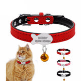 Cat Collar Personalized  Engraved - Treat Your Dog Good