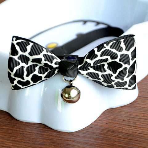 Adjustable Puppy Kitten Dog  Pet Bow Tie - Treat Your Dog Good
