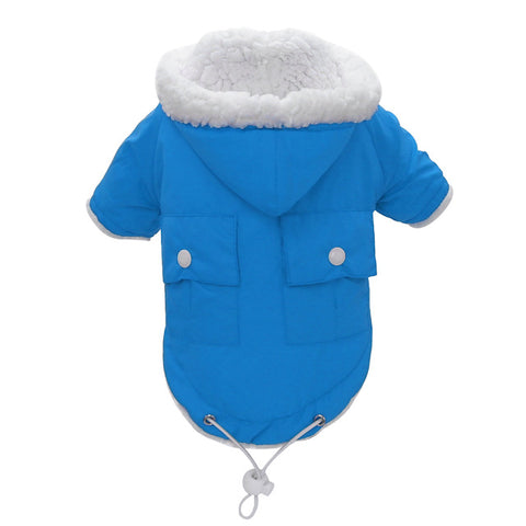 Waterproof Warm Hooded Chihuahua Coat For Small Medium Large Dogs S-XL - Treat Your Dog Good