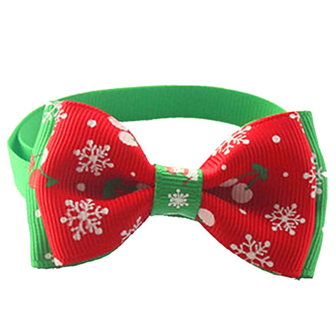 Christmas Pet Bow Tie Dogs - Treat Your Dog Good