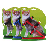 Adjustable Nylon Cat Kitten Leash - Treat Your Dog Good