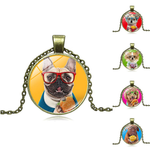 Maxi Pendant Necklace for Women Gift - Treat Your Dog Good