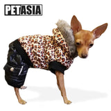 2018 Leopard Print Dog Coat - Treat Your Dog Good
