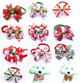 Christmas Dogs Festival Bow Ties - Treat Your Dog Good