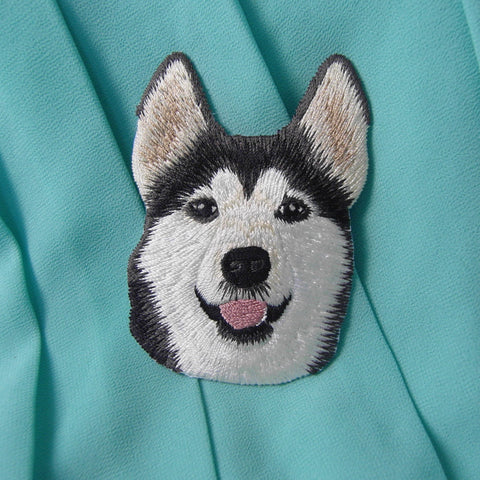 Boutique Snow Dog Husky Patch - Treat Your Dog Good