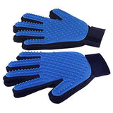 Dog &Cat Grooming  Gentle Touch Deshedding Brush Glove - Treat Your Dog Good